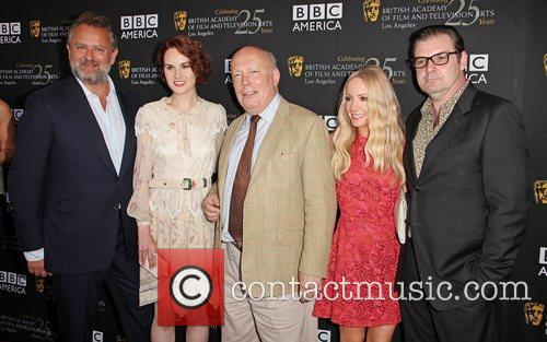 Hugh Bonneville, Michelle Dockery, Julian Fellowes, Joanne Froggatt, Brendan Coyle and Bafta 3