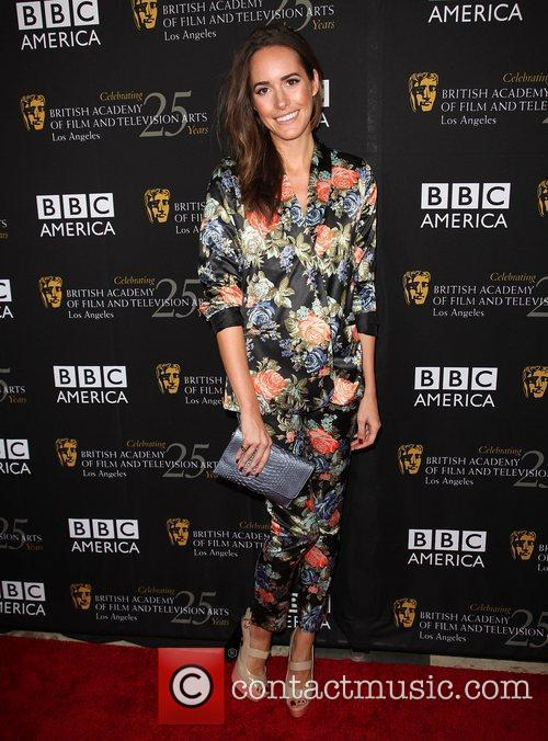Louise Roe and Bafta 1