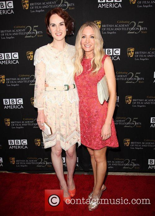 Michelle Dockery, Joanne Froggatt and Bafta 5