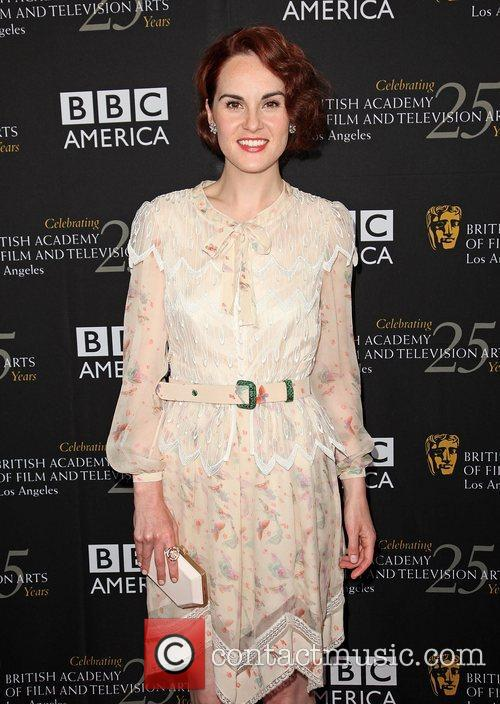 Michelle Dockery and Bafta 6