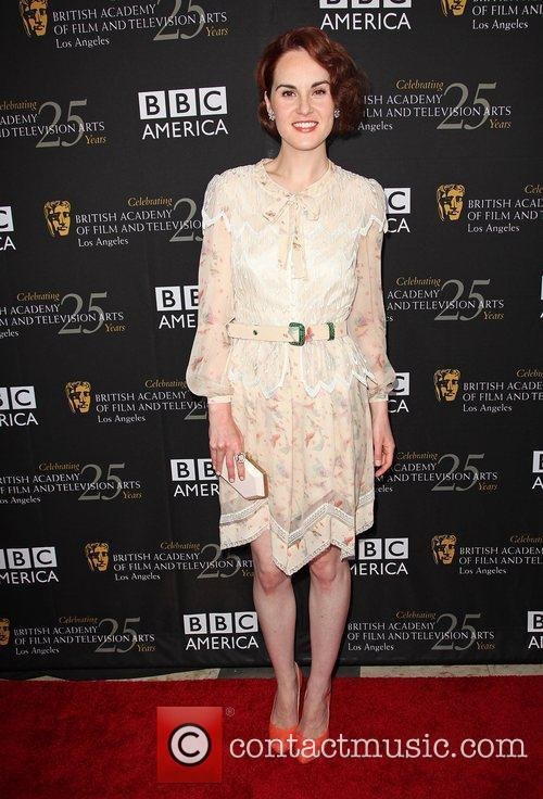 Michelle Dockery and Bafta 7