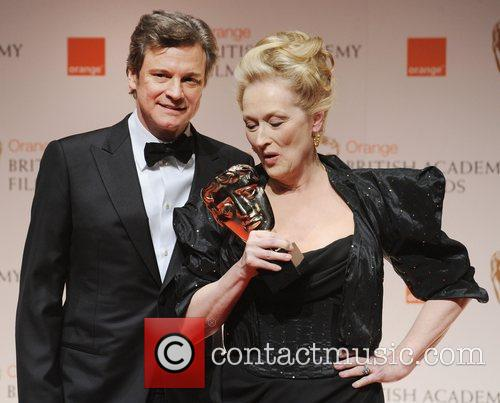 Colin Firth, Meryl Streep and Bafta 1
