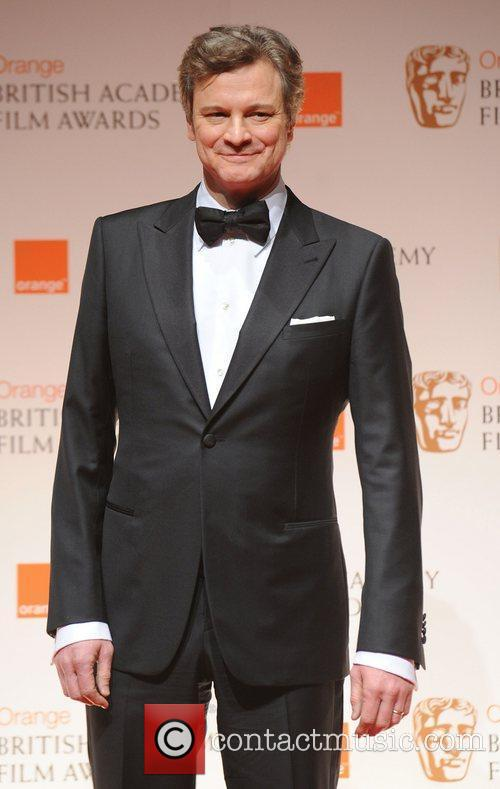 Colin Firth and Bafta 3