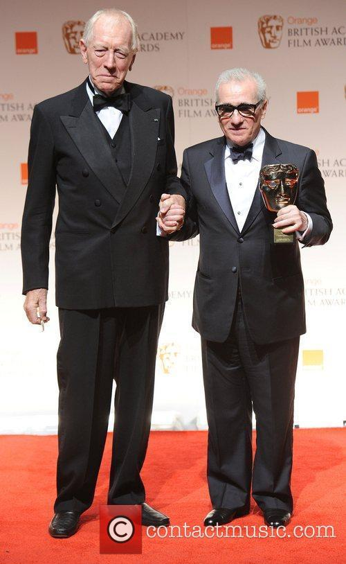 Max Von Sydow, Martin Scorsese and Bafta