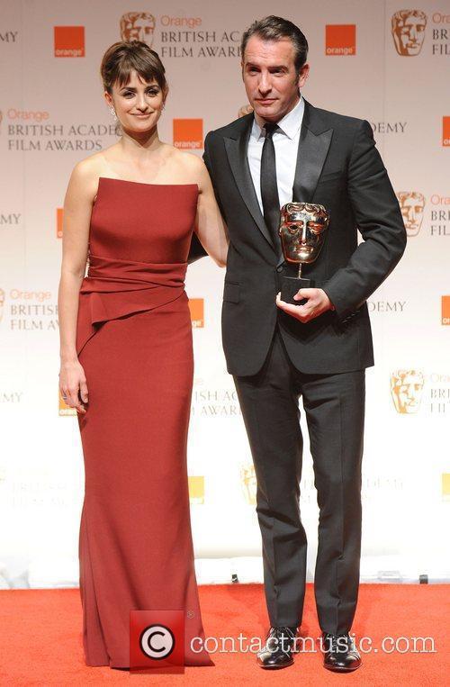 Penelope Cruz, Jean Dujardin and Bafta 1