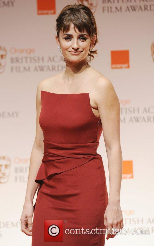 Penelope Cruz, Meryl Streep and Bafta