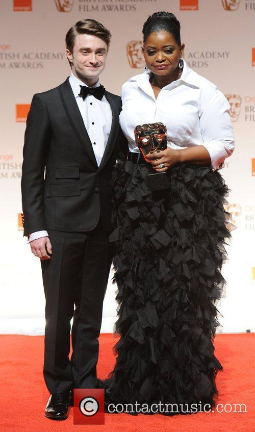 Daniel Radcliffe, Octavia Spencer and Bafta 2