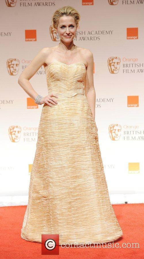 Gillian Anderson and Bafta 8