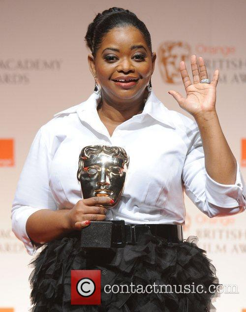 Octavia Spencer and Bafta 4