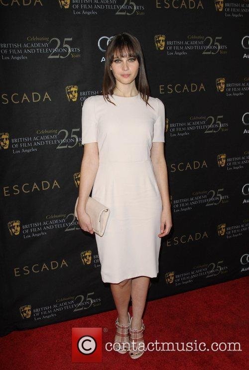 Felicity Jones and Bafta 1
