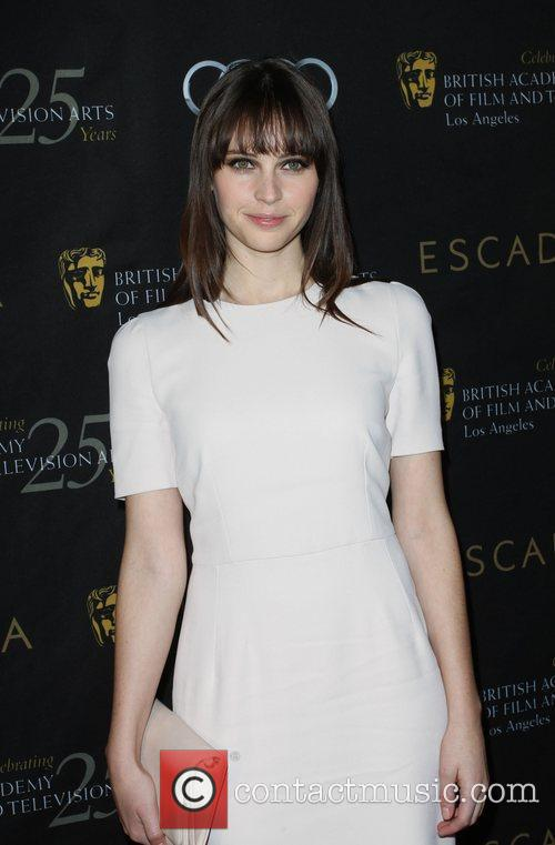 Felicity Jones and Bafta 2