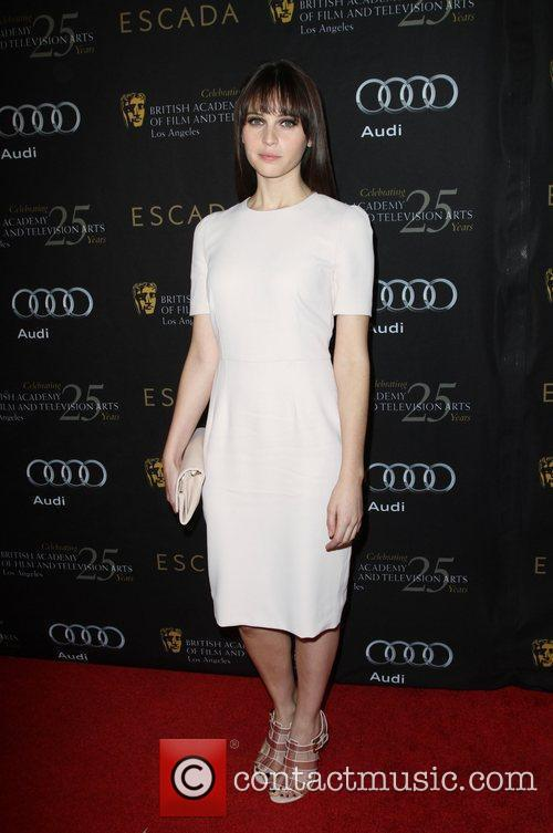 Felicity Jones and Bafta 3