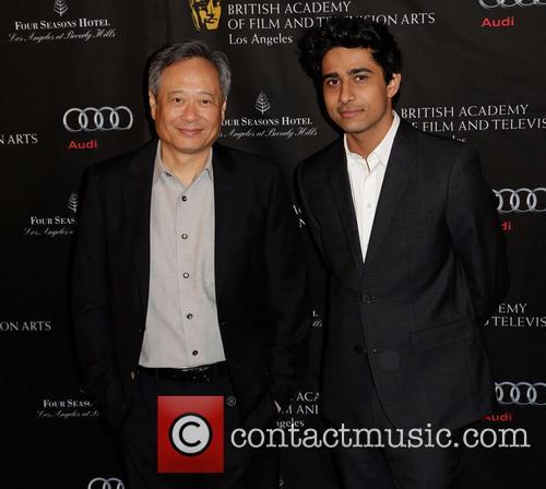 Ang Lee and Suraj Sharma BAFTA Los Angeles...