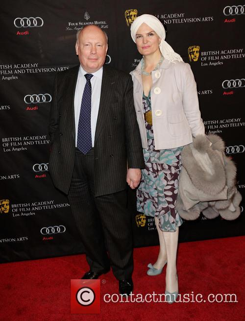 Julian Fellowes and Emma Fellowes