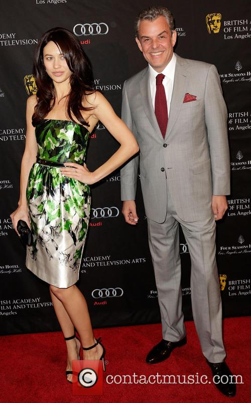 Olga Kurylenko and Danny Huston