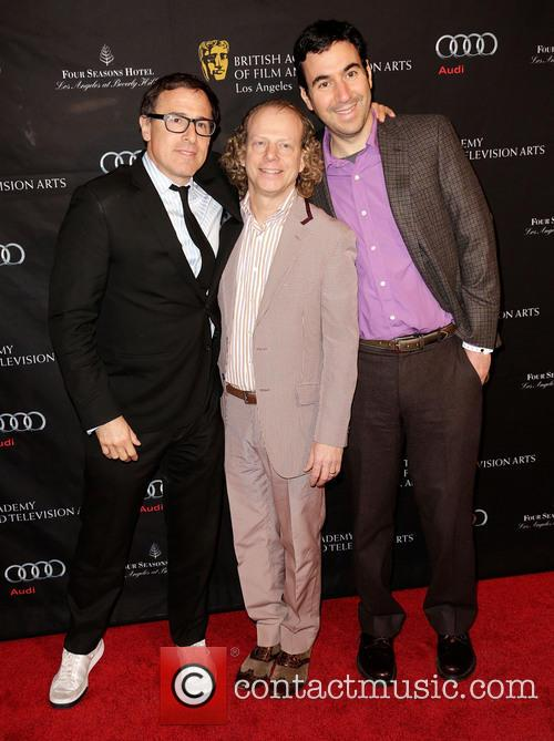 Director David O. Russell, Bruce Cohen and Jonathan Gordon