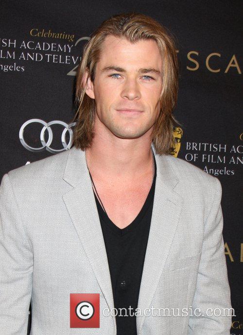 Chris Hemsworth BAFTA Los Angeles 18th Annual Awards...