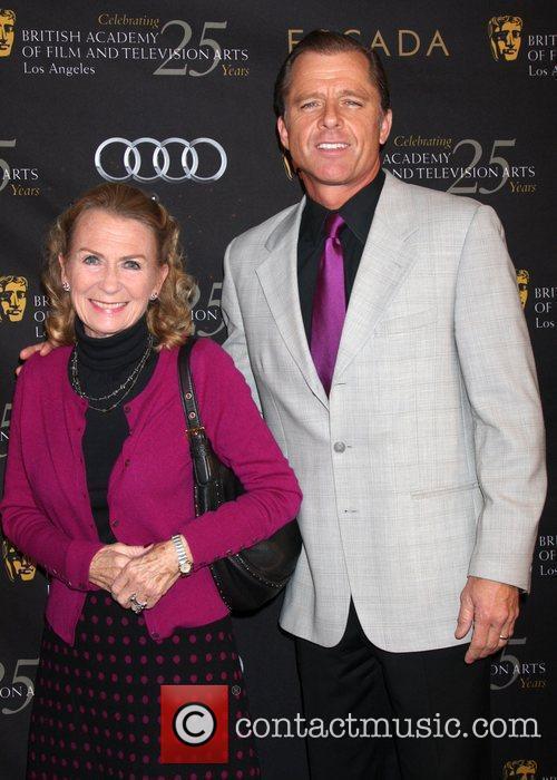 Juliet Mills and Maxwell Caufield  BAFTA Los...