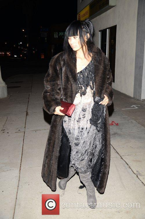 Bai Ling  arrives at Pearl Records 2011...