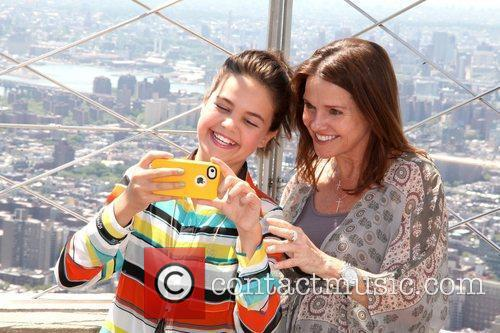 Bailee Madison and Patricia Riley The Empire State...