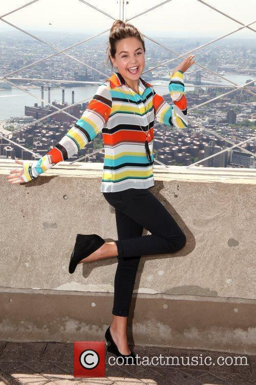 Bailee Madison The Empire State Building hosts the...