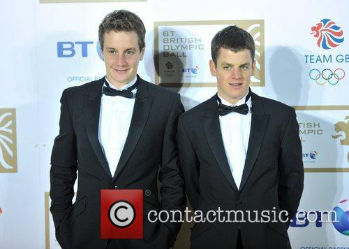 Alistair, Jonathan Brownlee and Grosvenor House 6
