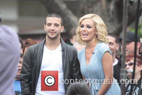 Mark Ballas and Katherine Jenkins 8