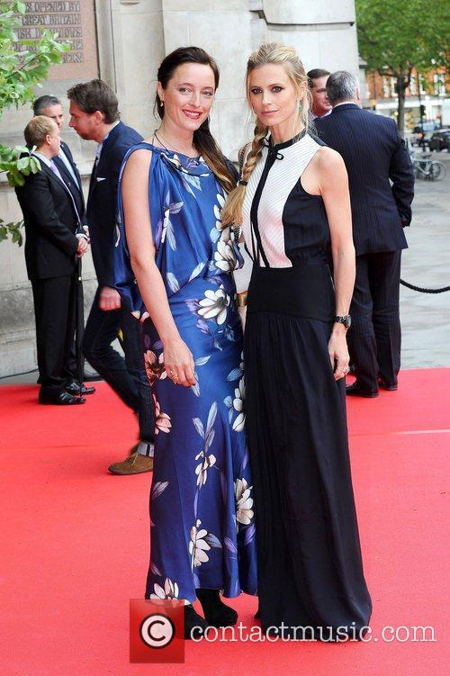 Alice Temperley and Laura Bailey  at the...