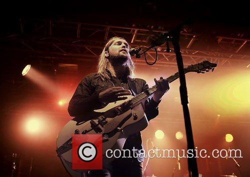 Russell Marsden, Liverpool O2 Academy and Band Of Skulls 8