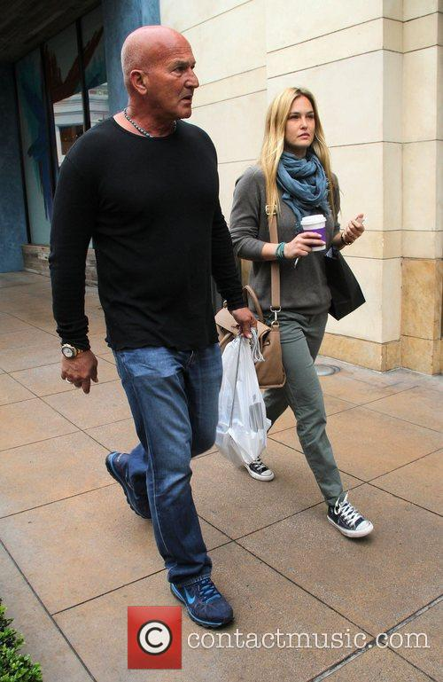 And her Father Rafi Rafaeli shopping at The...