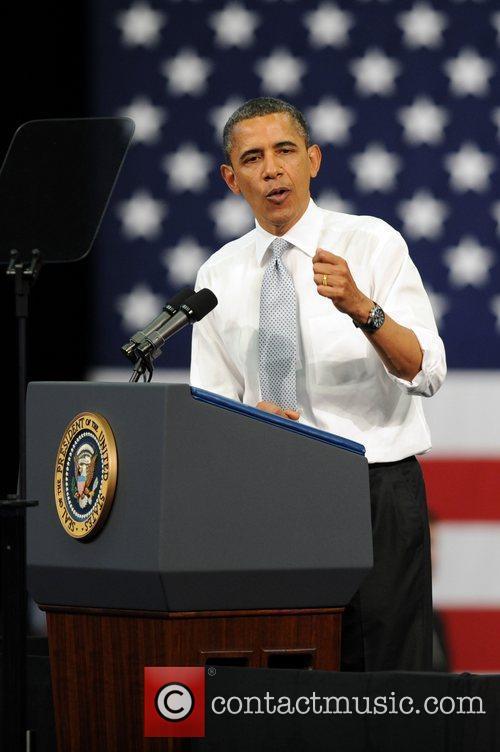 president barack obama at florida atlantic university 3821741