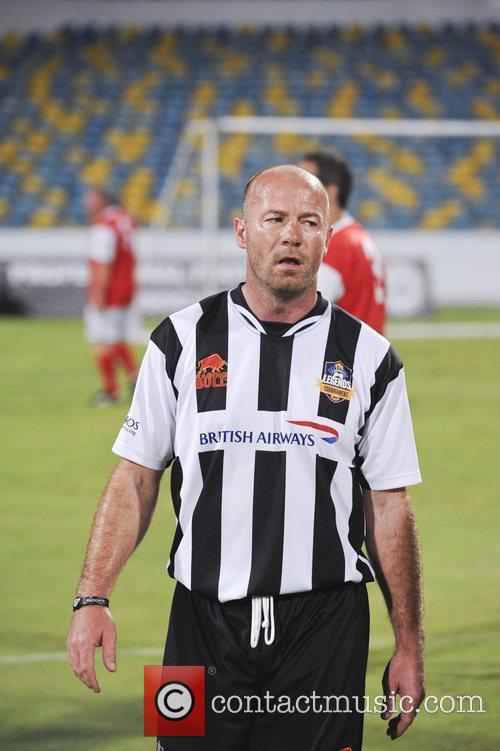 Allan Shearer Barbados Football Legends Tournament held at...