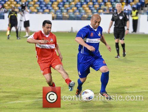 Di Matteo Barbados Football Legends Tournament held at...