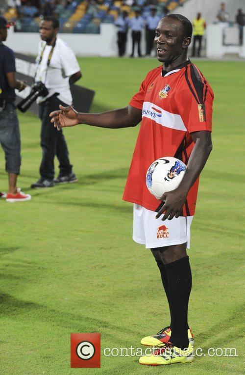 Dwight Yorke Barbados Football Legends Tournament held at...