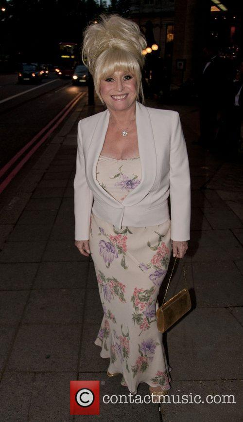 Barbara Windsor attends the Breast Cancer Care event...