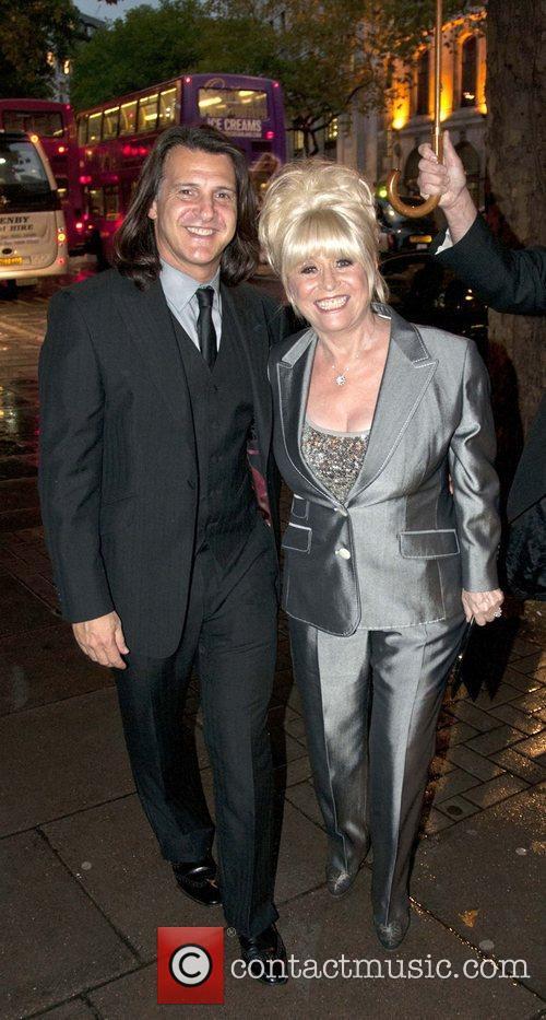 Barbara Windsor and husband Scott Mitchell attend the...