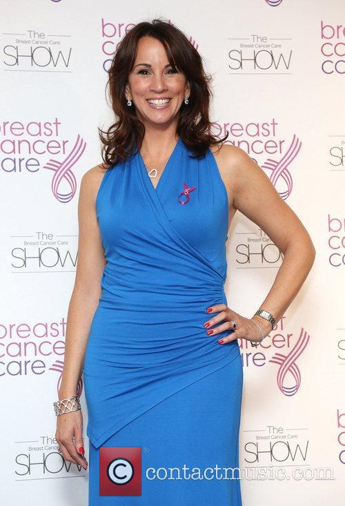 Andrea McLean Breast Cancer Cares London Fashion Show...