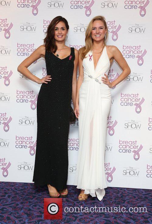 Anita Kaushik and Kimberley Garner Breast Cancer Cares...