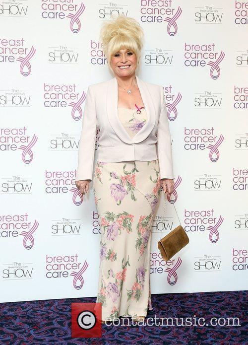 Barbara Windsor Breast Cancer Cares London Fashion Show...