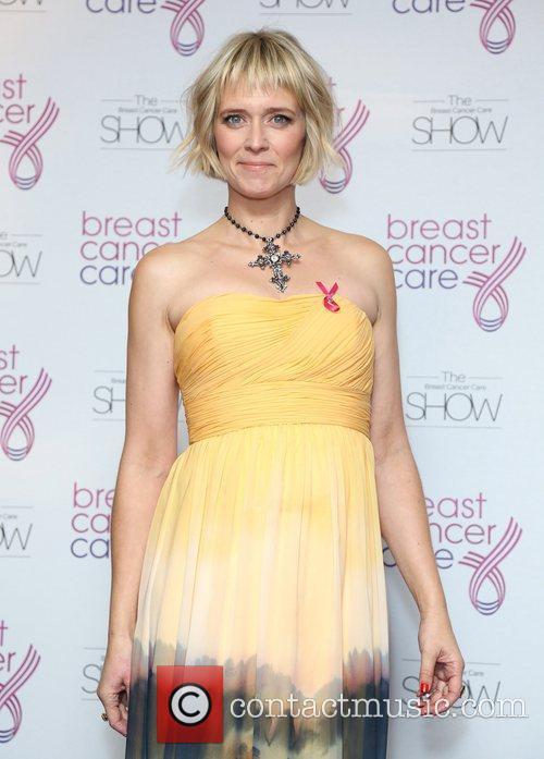 Edith Bowman Breast Cancer Cares London Fashion Show...