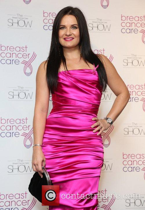 Guest Breast Cancer Cares London Fashion Show held...