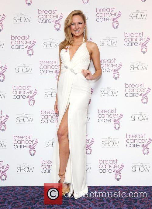 Breast Cancer Cares London Fashion Show held at...