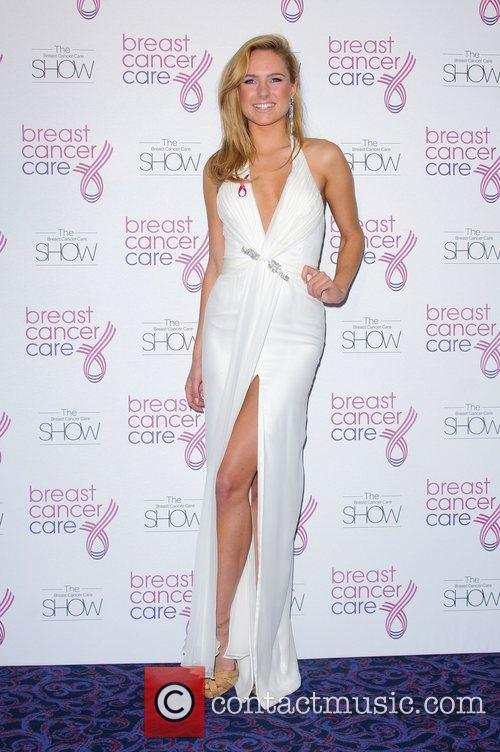 Kimberley Garner Breast Cancer Care event at the...