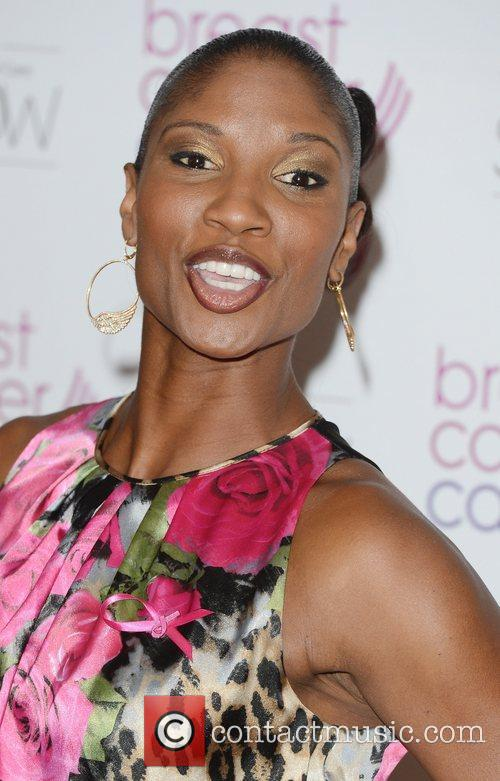 Denise Lewis Breast Cancer Care event at the...