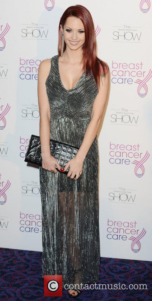 Jessica Jane Clement Breast Cancer Care event at...