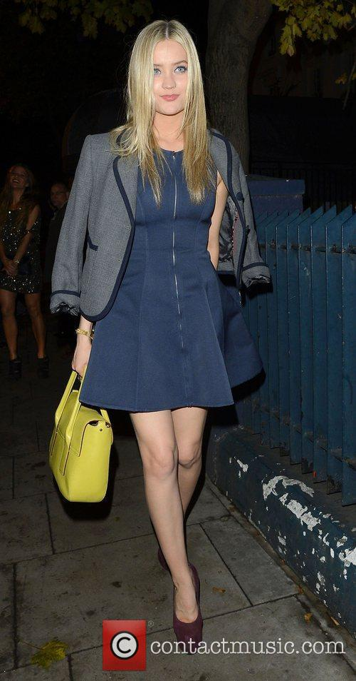Laura Whitmore at Barbarella's restaurant in Chelsea London,...