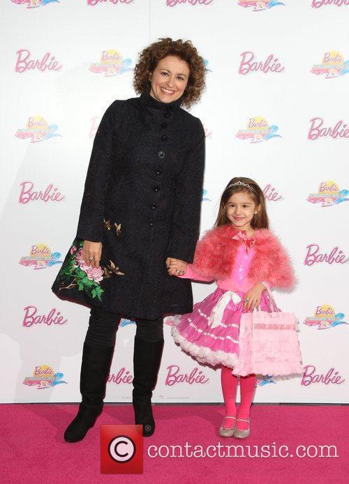 Nadia Sawalha with her daughter Barbie: A Mermaid's...
