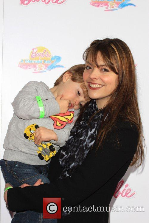 kate ford with her son barbie a 3723405
