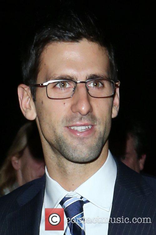 Novak Djokovic,  at the Barclays ATP World...