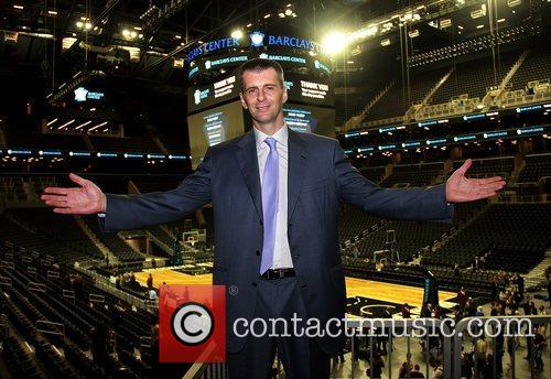 Brooklyn Nets Owner Mikhail Prokhorov, opened his arms...
